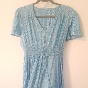 Sky Blue Maxi Dress size Medium
